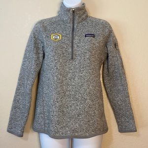 Patagonia Better Sweater 1/4 Zip Gray Pullover
